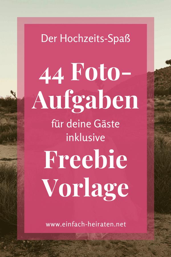 Aufgaben Fotospiel inklusive Freebie Vorlage Download