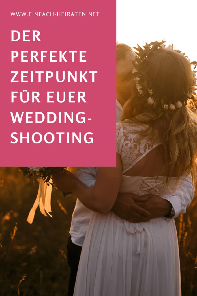 Hochzeitsshooting vor oder nach der Trauung