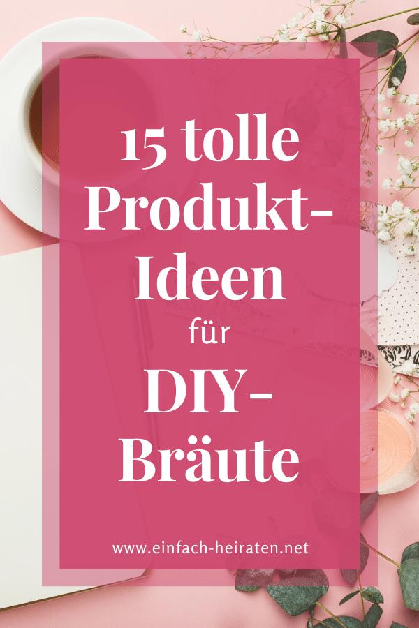 Ideen für die DIY-Braut