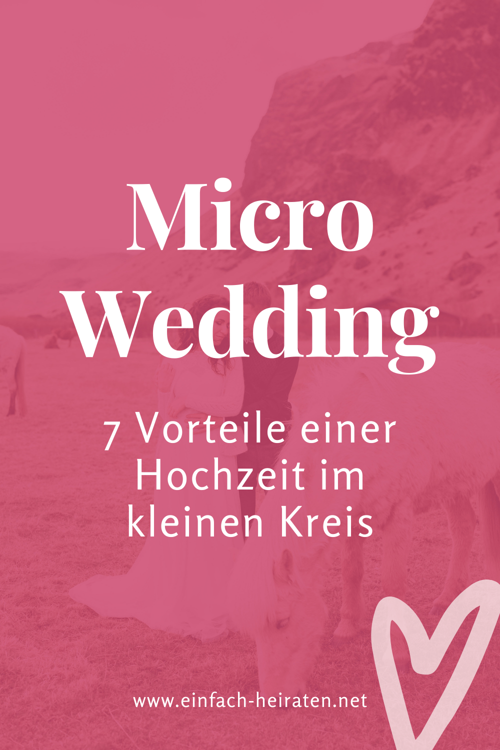 Micro Wedding feiern