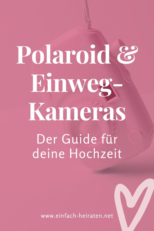 Polaroidkameras Hochzeit
